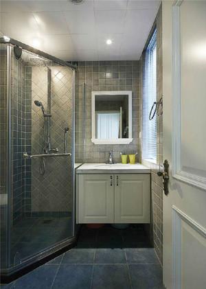 简欧风格两居室卫生间淋浴房装修效果图赏析