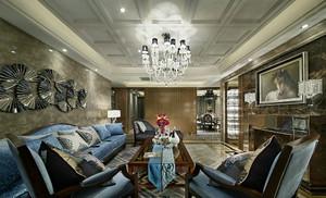200平米新古典主义风格别墅室内装修效果图案例