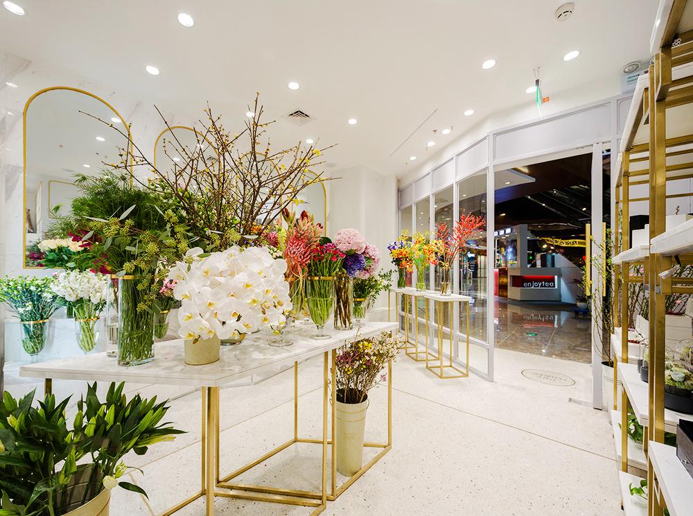120平米现代风格花店装修效果图赏析