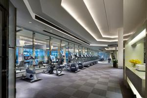 200平米现代风格健身房设计装修效果图赏析