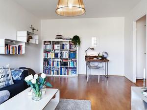 61平米北欧风格一居室小户型室内装修效果图赏析