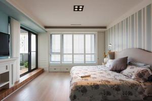 简欧风格大户型温馨卧室墙纸装修效果图赏析