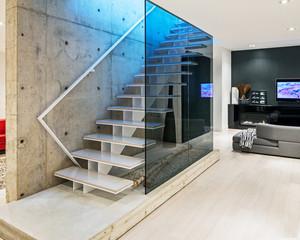 现代简约风格楼梯装修效果图赏析
