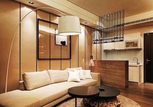 63平米现代风格精致小户型室内装修效果图案例