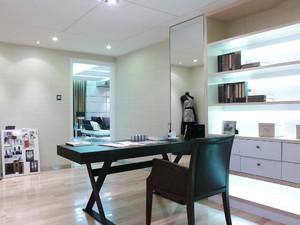 16平米现代风格书房装修实景图赏析