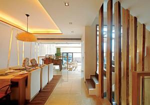 300平米新中式风格别墅室内装修效果图案例
