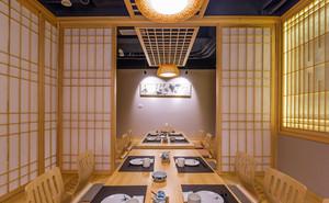 30平米日式风格餐厅包厢装修效果图