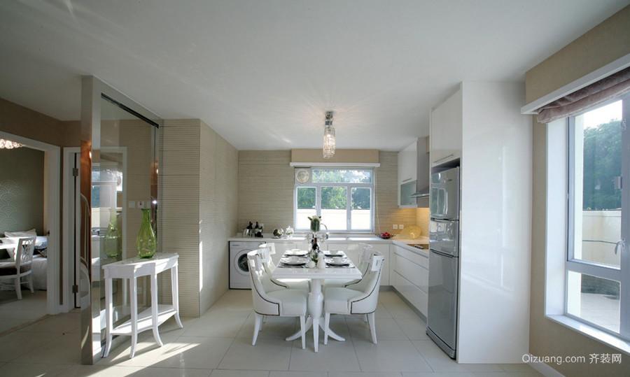 189平米温馨欧式风格复式楼室内装修效果图赏析