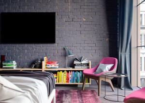 61平米后现代风格一居室小户型室内装修效果图赏析