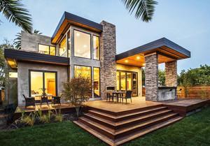 300平米后现代风格独栋别墅装修效果图赏析