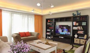 112平米简欧风格三室两厅室内装修效果图赏析