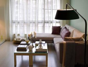 现代简约风格小户型室内装修效果图案例
