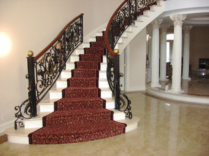 古典欧式风格别墅楼梯装修效果图赏析