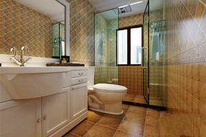 欧式风格别墅卫生间瓷砖装修效果图赏析