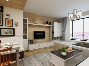 79平米现代简约风格两室两厅室内装修效果图赏析