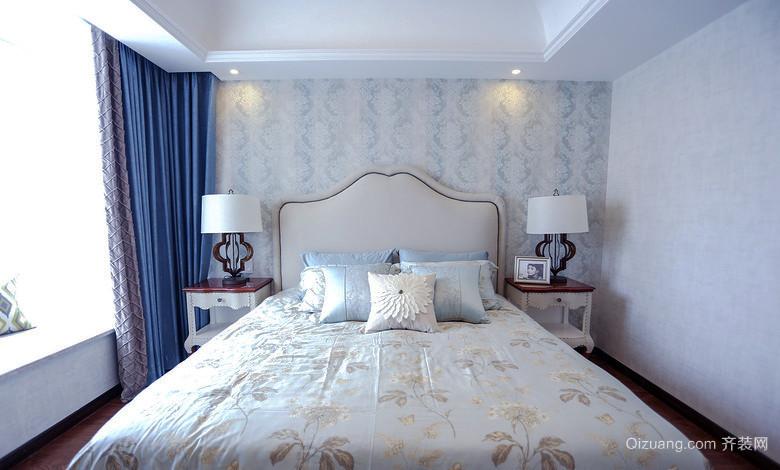 133平米現代簡約美式風格三室兩廳室內裝修效果圖