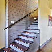 简欧风格别墅楼梯设计装修效果图