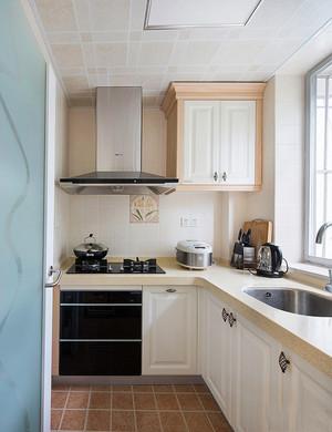简欧风格小户型室内整体厨房装修效果图