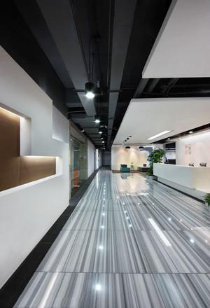 150平米现代风格办公室过道装修效果图赏析