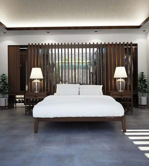 中式风格豪华酒店客房装修效果图赏析