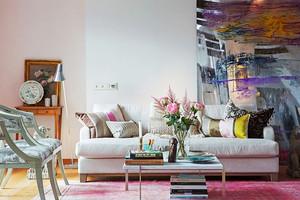 109平米北欧风格阁楼改两居室装修效果图赏析