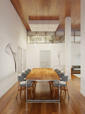 宜家风格大户型室内餐厅设计装修效果图赏析