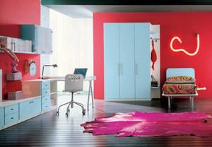现代简约风格明亮儿童房设计装修效果图大全