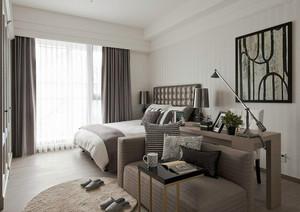 62平米后现代风格一居室室内装修效果图案例