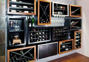后现代风格别墅室内创意酒柜装修效果图赏析