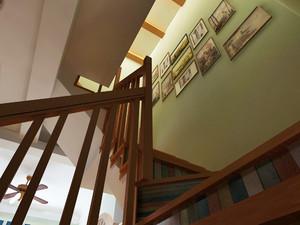 107平米民族风混搭风格小复式楼装修效果图赏析