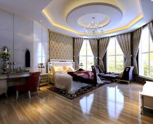 150平米欧式风格精美典雅大户型室内装修效果图