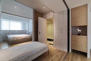 80平米日式风格浅色舒适室内装修效果图赏析