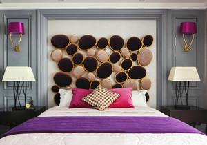 简欧风格大户型室内卧室背景墙装修效果图赏析