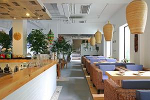 77平米宜家风格快餐店设计装修效果图赏析