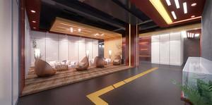 现代风格时尚创意办公室休息室装修效果图