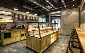 66平米后现代风格面包店装修效果图赏析