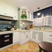 欧式风格厨房橱柜设计装修效果图赏析