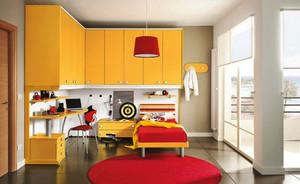 14平米现代简约风格儿童房装修效果图大全