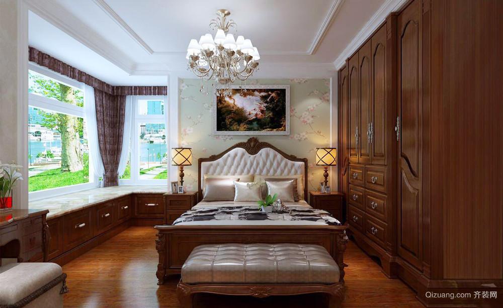 古典欧式风格大户型卧室衣柜装修效果图赏析