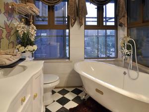 149平米欧式风格典雅两室两厅室内装修效果图案例