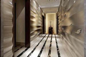 现代风格精致大户型进门玄关设计装修效果图