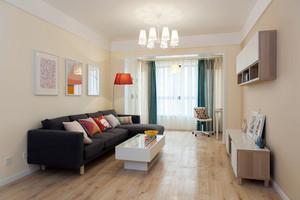 83平米宜家风格两室两厅一卫室内装修效果图赏析
