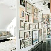 北欧风格简约时尚照片墙设计装修效果图鉴赏