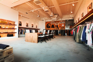 100平米乡村风格自然随性服装店设计装修效果图