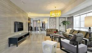 144平米新中式风格大户型室内装修效果图赏析