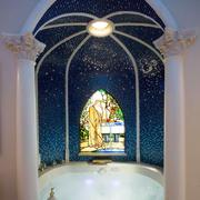 欧式风格别墅室内豪华卫生间装修效果图赏析