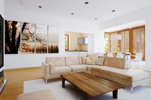 现代简约风格大户型室内客厅沙发装修效果图大全鉴赏
