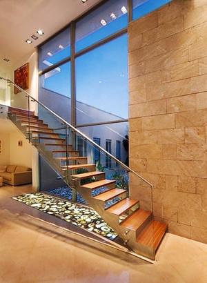 现代风格别墅楼梯装修效果图赏析
