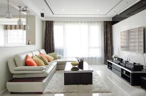 99平米现代简约风格精致婚房装修效果图赏析