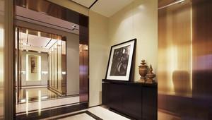 后现代风格大户型室内玄关装修效果图赏析